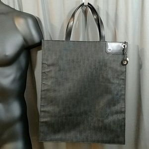 Dior Homme Manogram Canvas Coated Tote bag